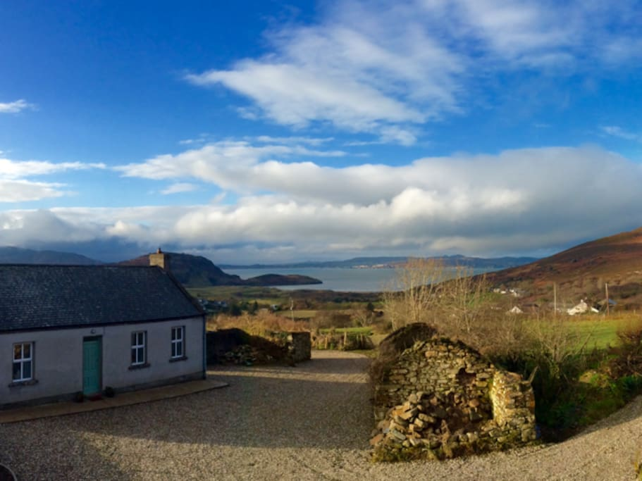 A spectacular Donegal setting ...