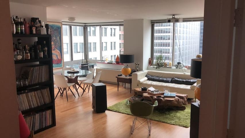 Financial District huge 2 bed 2 bath with views
