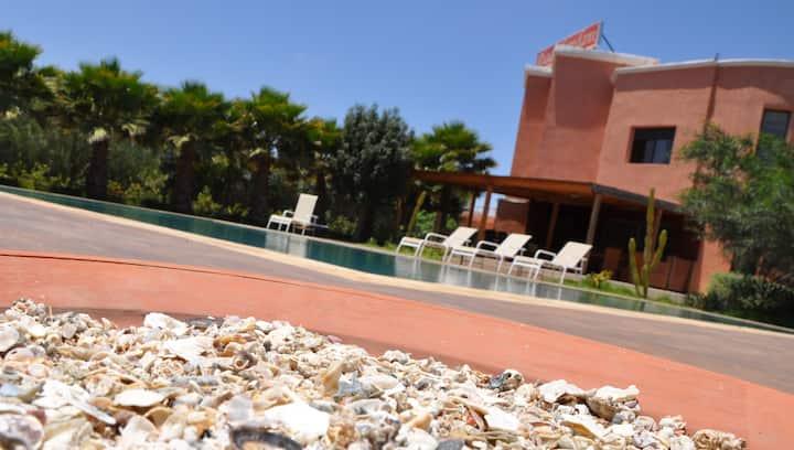 Riad Hamdani, un oasis à 3min de Casa Aéroport