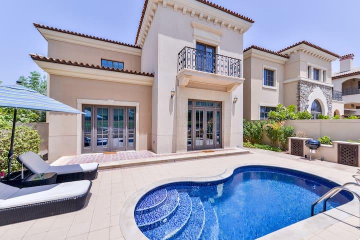 Jumeirah Golf Estates Luxury Villa (Course View)