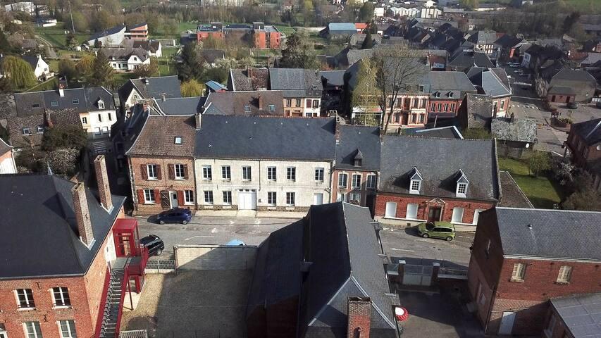 Chambres & Table d'hôtes Au Chapitre dans l'Aisne