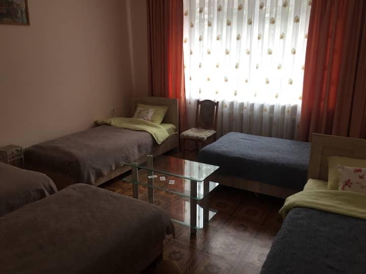 Семейный номер в Homey Hostel