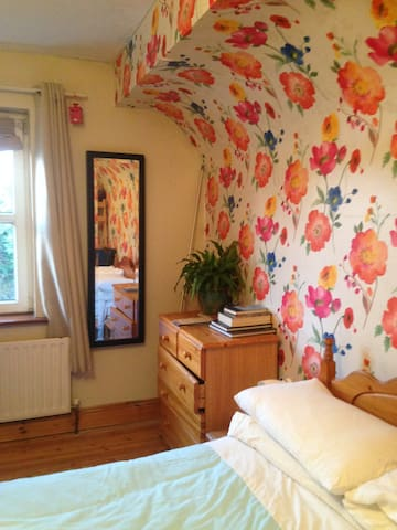 bright , pleasant private room.  Double bed . - Tulla - Dům