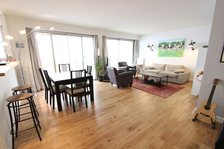 Beautiful and family flat - 110m2 - Paris - Daire