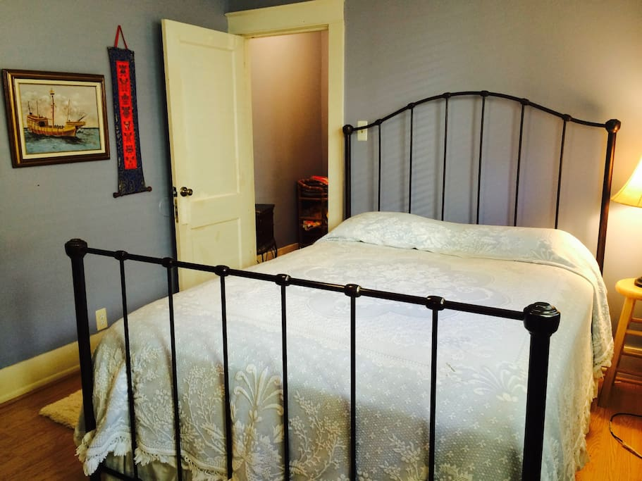 Comfortable guest bed