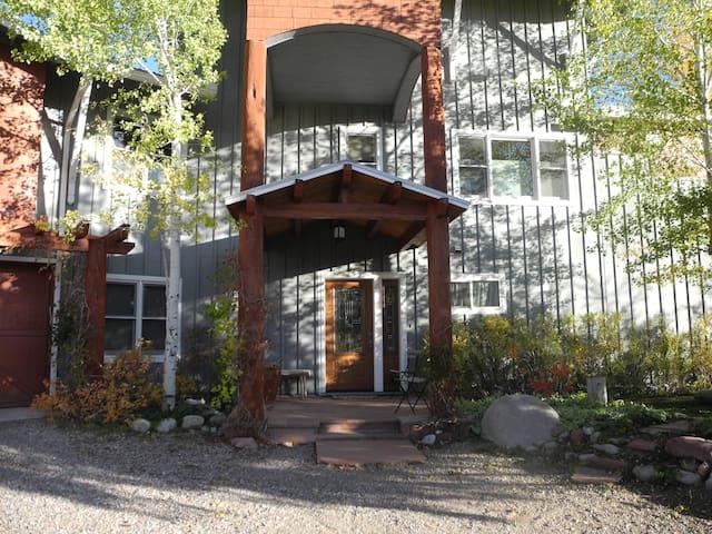 Spacious 4 bedroom hilltop home/close to Aspen
