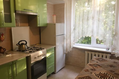 Whole apartment 2 rooms Lida 1 km from center
