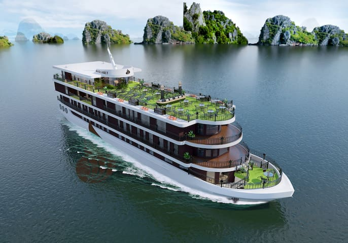 Halong Luxury 5 Star Margaret Cruises