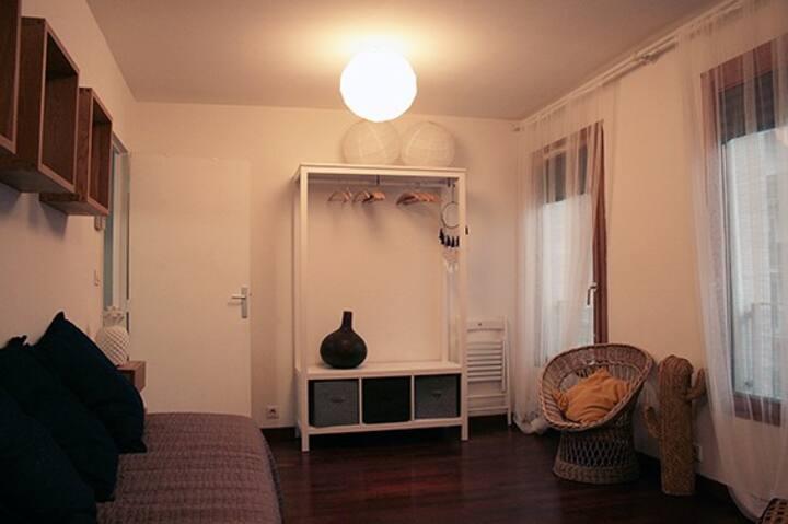 Appartement cosy à Tours, proche commerces et tram