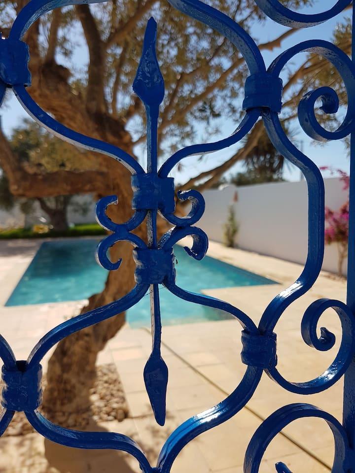 Sympathique villa avec piscine sans vis à vis