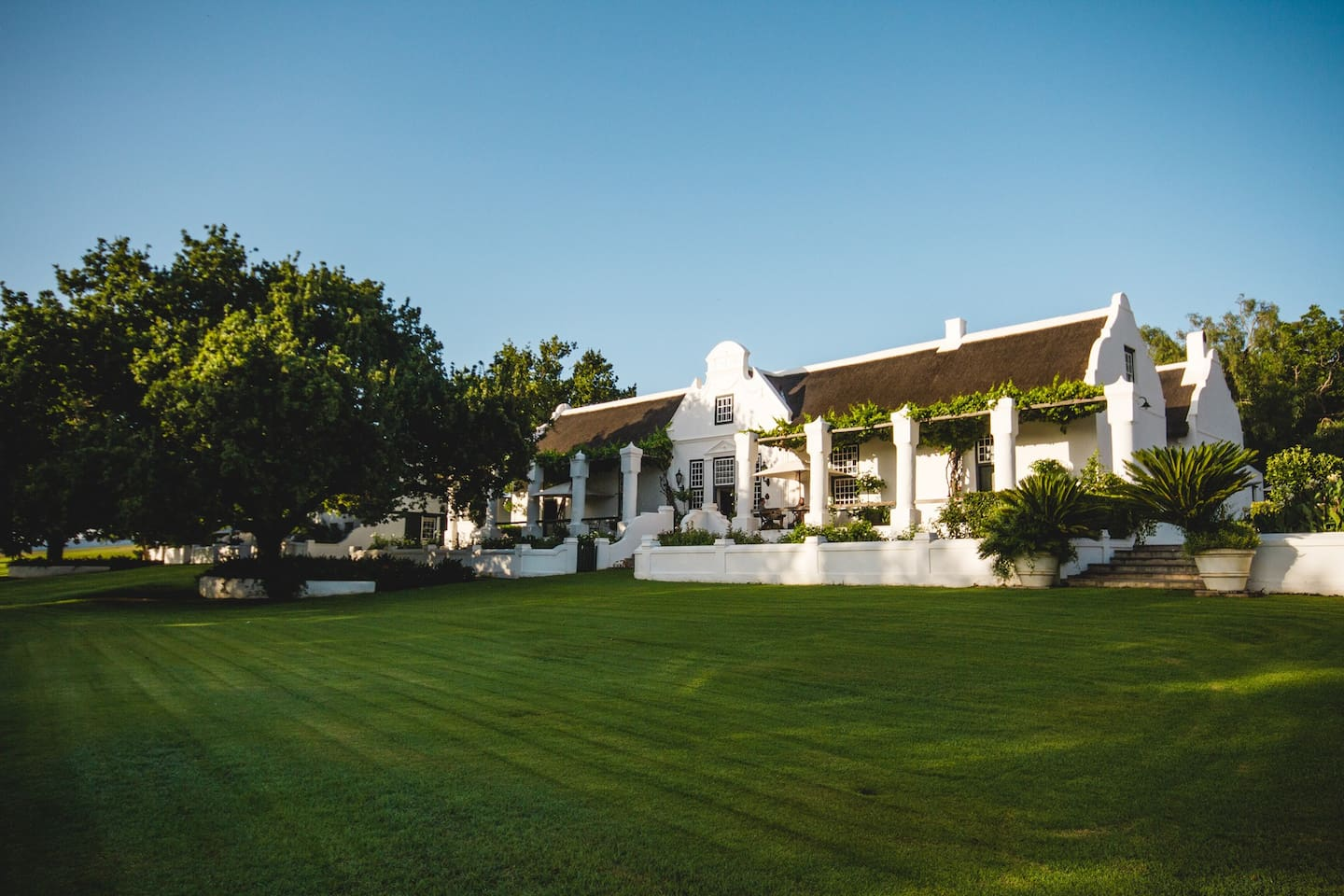 The beautiful Cape Dutch manor house on the Klipperivier small holding dating back to 1820