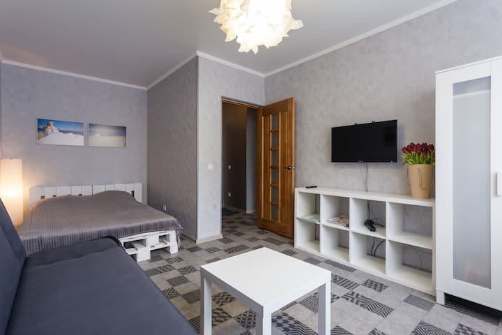 4. Cosy apartments on Pobeda square