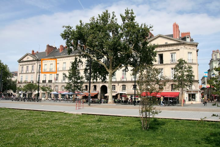 South oriented very nice apartment - Nantes - Apartemen