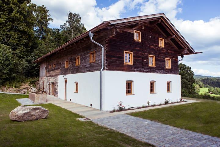 KOSTNERHOF im Bayerischen Wald für bis zu 8 P. - Drachselsried - Casa