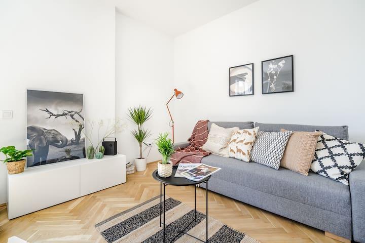 Cozy roof terrace & elegant apartment