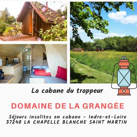 Cabane Trappeur, Insolite - Châteaux de la Loire