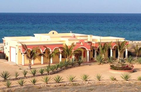 Luxurious Beachfront Hacienda with Private Pool