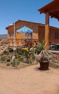 Cabaña entre el campo y playa - Las Barrancas - Cabana