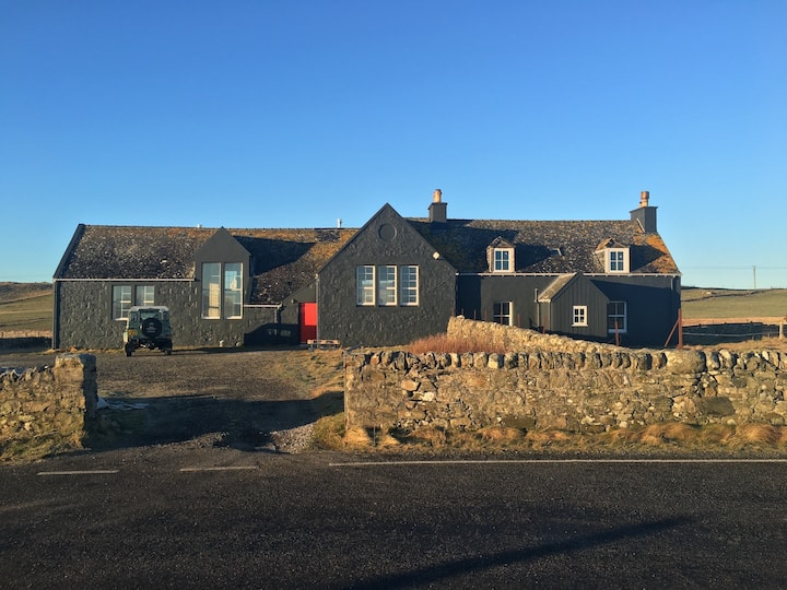 Beautiful schoolhouse, North Uist, Outer Hebrides