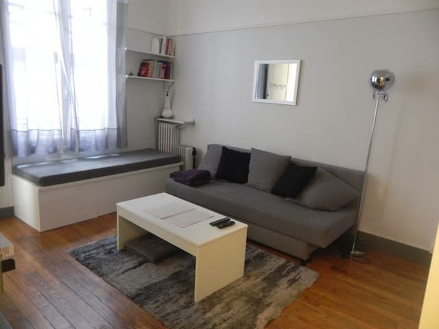 Modern studio 25min from Paris & CDG Airport