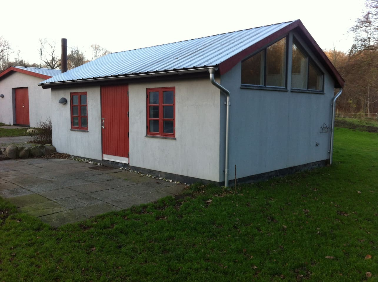 Hønsehuset, 35 sqr.mtr. with a  Patio