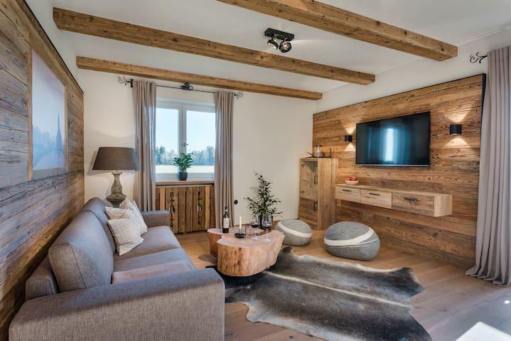 Hussnhof | 5-Sterne-Luxus-FeWo 100 m² - Sachsenkam - Huoneisto