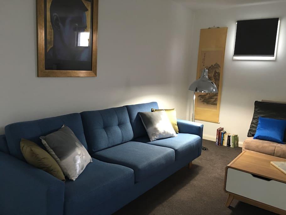 Comfortable stylish 3 seat sofa