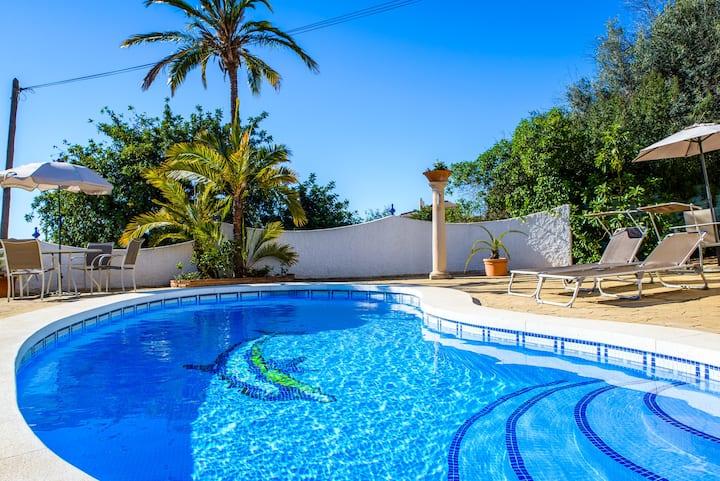 Villa Edelweiss -  in a Charming Spanish Village