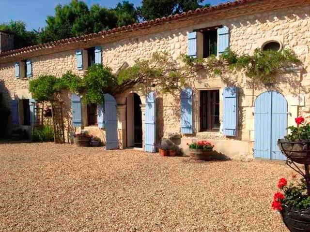 Gîte La Marteille avec piscine privée - Saint-Privat-des-Prés - Hus