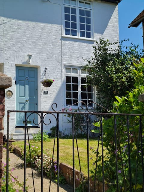 Enchanting village cottage with glorious garden.