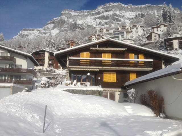 Sunniest view in Flims chalet - Flims - Apartament