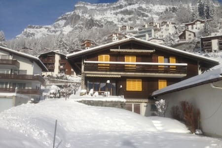 Sunniest view in Flims chalet - Flims - Apartamento
