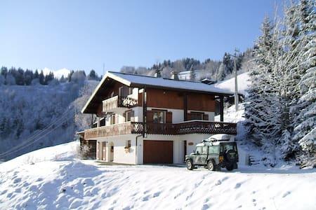 Large fully catered ski chalet - Ле Же