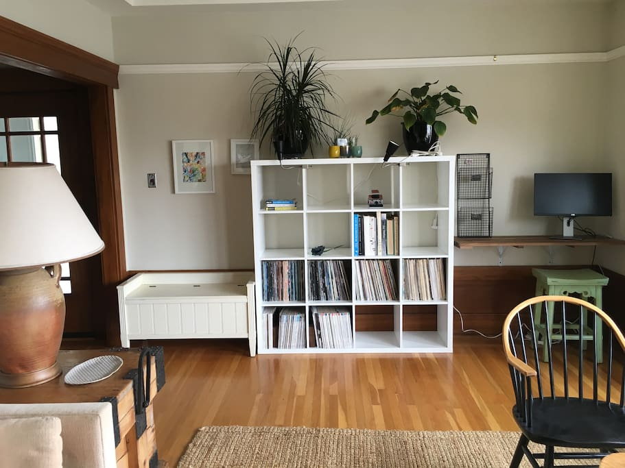 Living Room (including record collection)