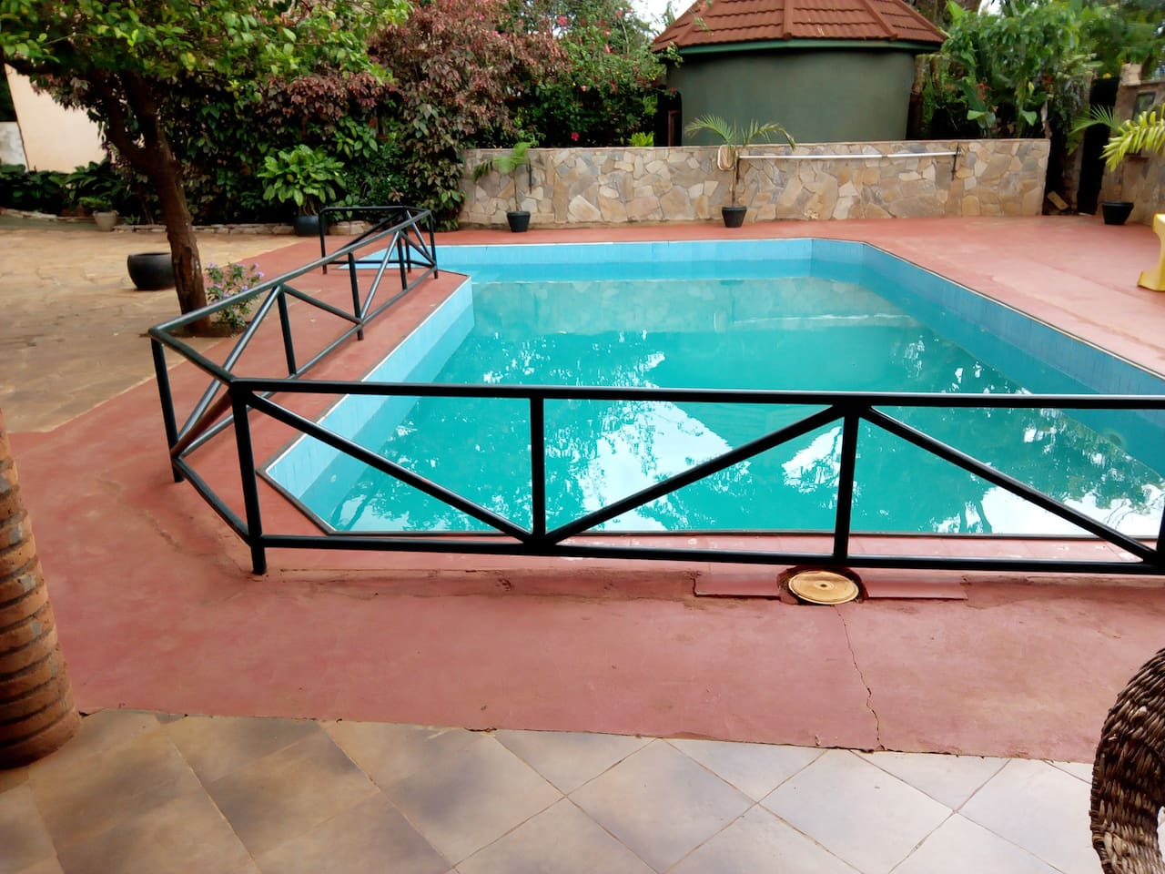 we have beautifully swimming pool for our tourist enjoy the day After Safari