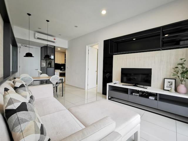1CFCA_ Cozy 1BR Suite Near Jalan Bukit Bintang
