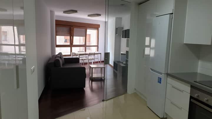 Apartamento moderno y céntrico en Vilagarcia