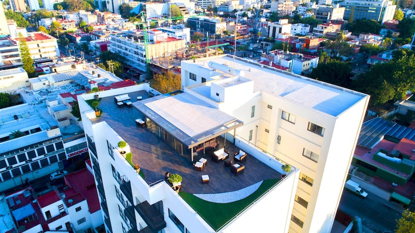 Dodogdl⭐Suite/2 Rooms/2 Bathrooms/POOL❤️/ROOFTOP