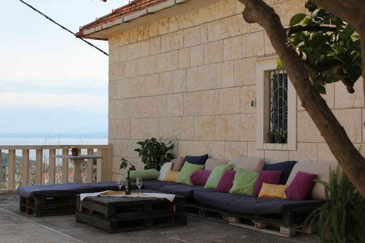 Antonela's house on the island - Split - Casa