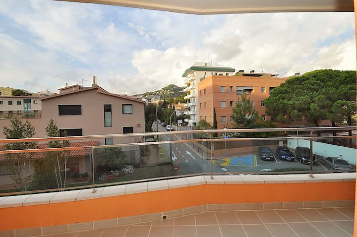 Family apartment Marra, 300m from the beach, air conditioning, wi-fi