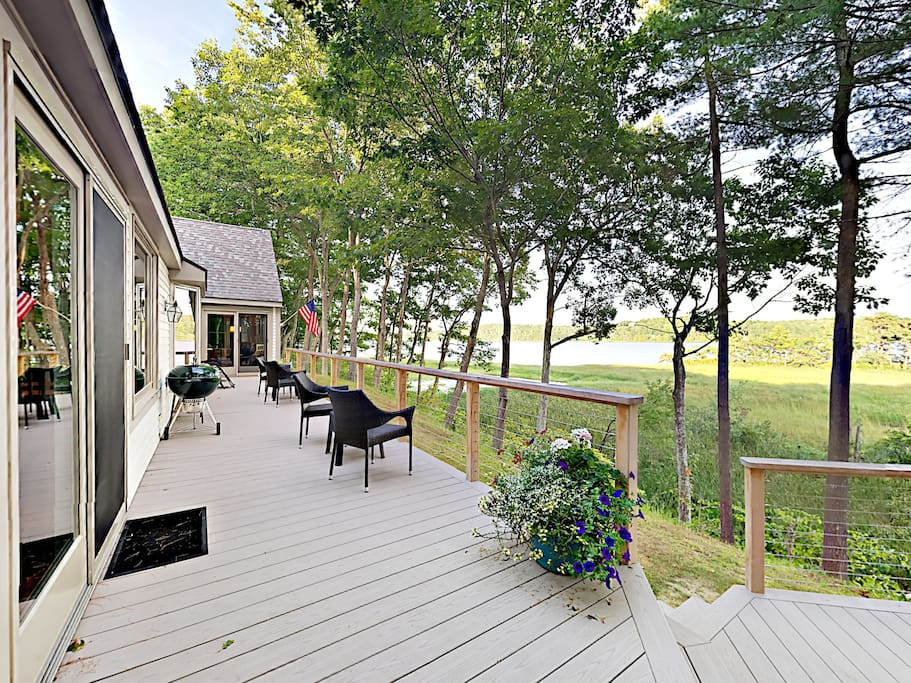 This charming 4BR, 2BA Phippsburg home is a nature lovers paradise!