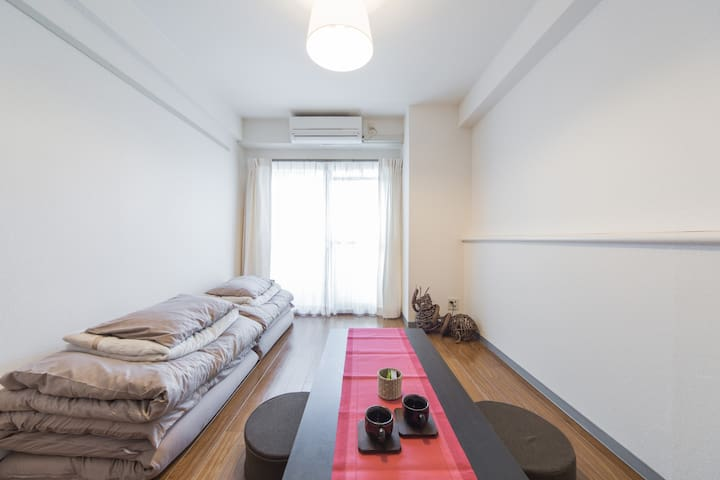16min from JR.Kyoto! Free wifi !2. - Kyōto-shi - Appartement
