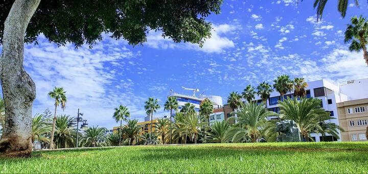 Habitación en el centro de Las Palmas