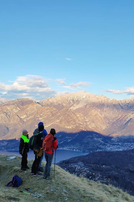 Panoramic view during the hike