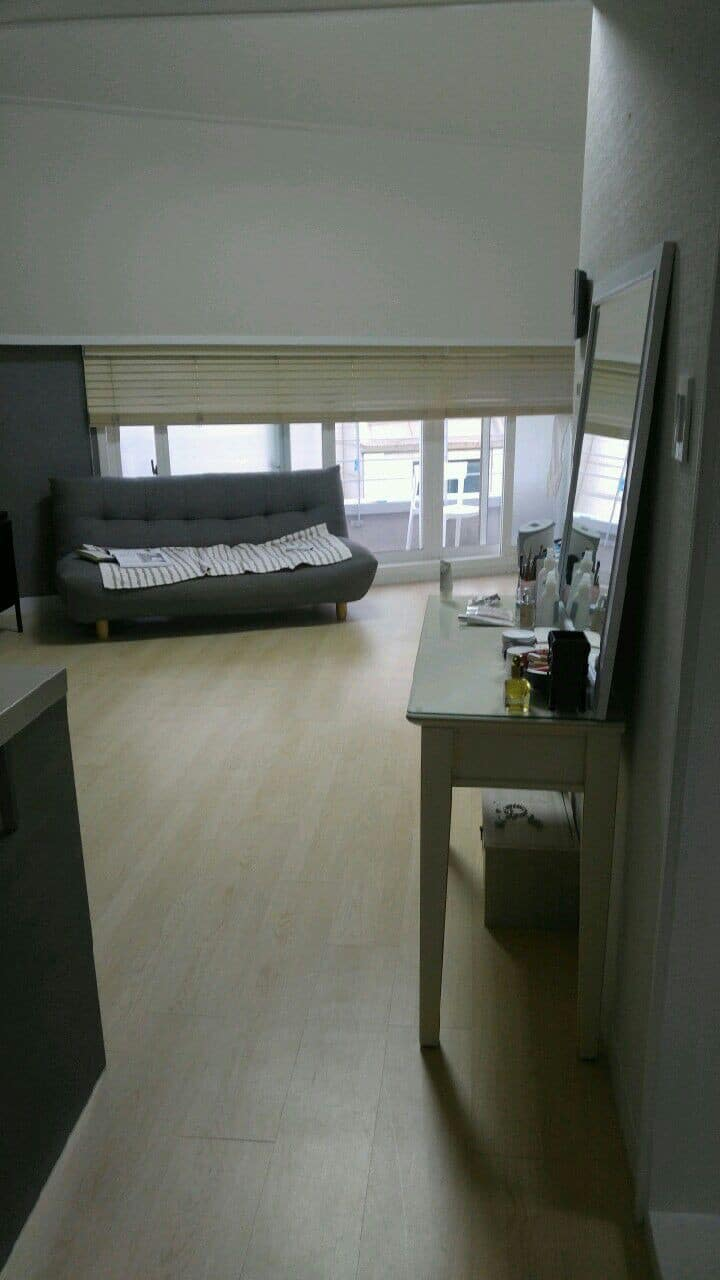 Clean spacious room with a balcony