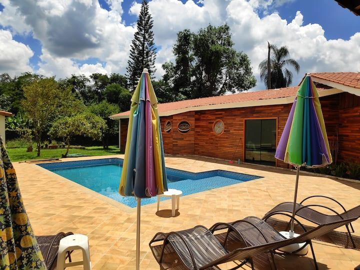 Chácara c/ piscina, Mairiporã, Serra da Cantareira