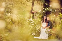 Hochzeit in meinem Garten