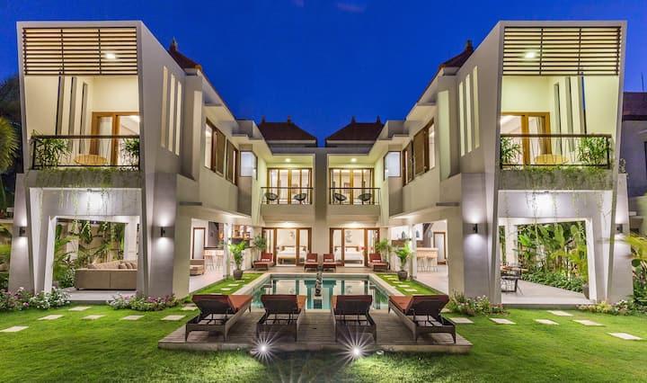 LAST Min Deal 2BR Private LUX Villa 500m to Beach