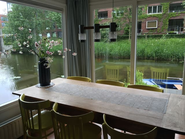Stay at this Houseboat in Utrecht! - Utrecht - Pis