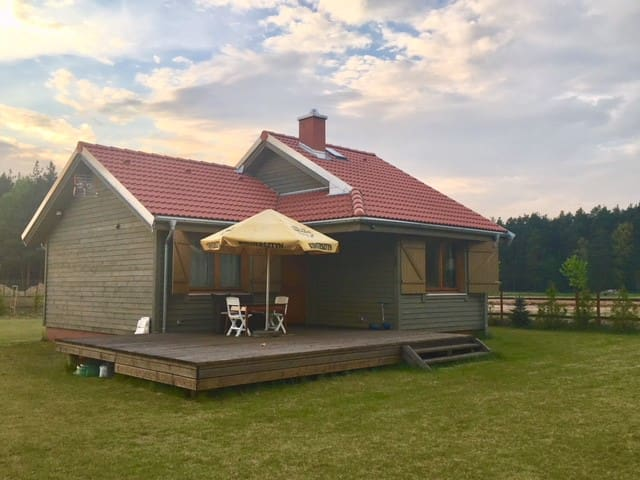 Huta cosy country house!!! Bory Tucholskie